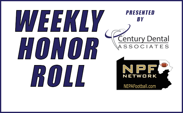 2020 Week 1 Honor Roll