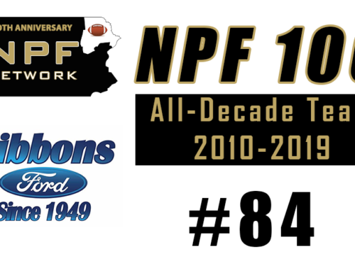 NPF 100: #84 – Anthony Maurent, G.A.R.