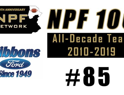 NPF 100: #85 – C.J. Dippre, Lakeland