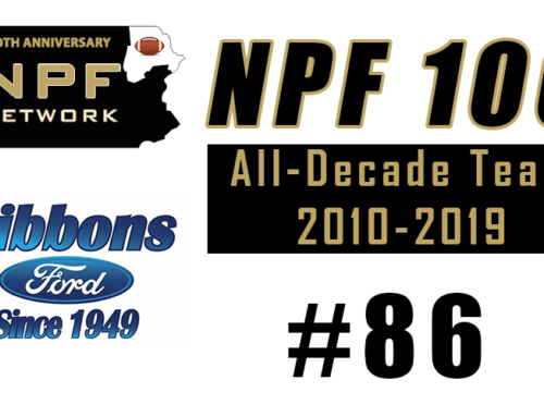NPF 100: #86 – Adam Goeringer, Dallas