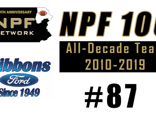 NPF 100: #87 – C.J. Curry, Berwick