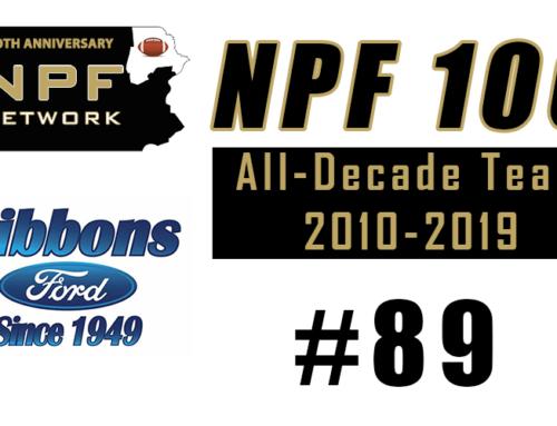 NPF 100: #89 – Roy Dennis, Berwick