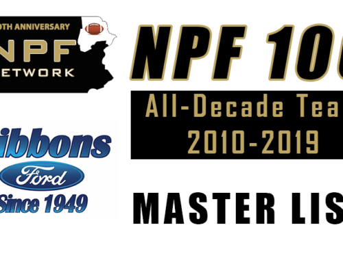 NPF 100 – All-Decade Team 2010-2019