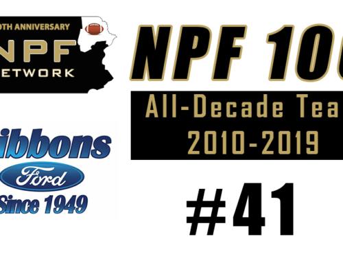 NPF 100: #41 – Lex Rosario, Delaware Valley