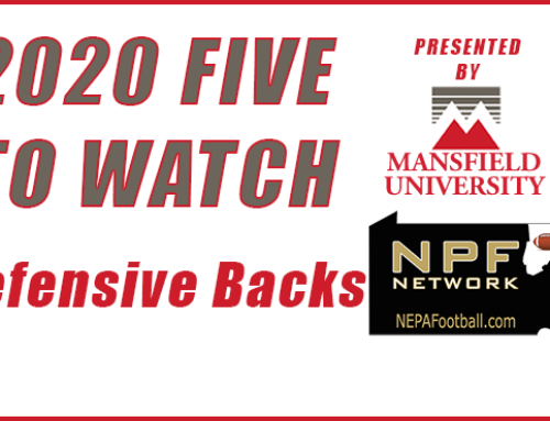 2020 Five To Watch – Defensive Backs