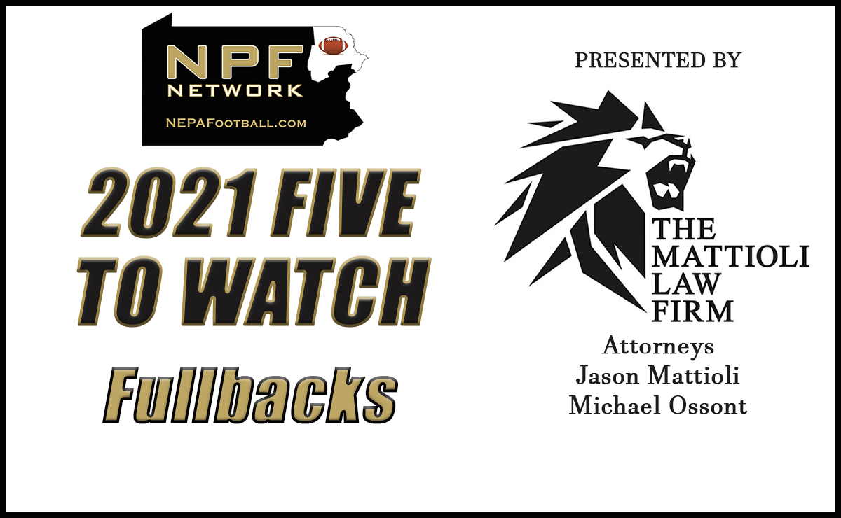2021 Five To Watch: Fullbacks