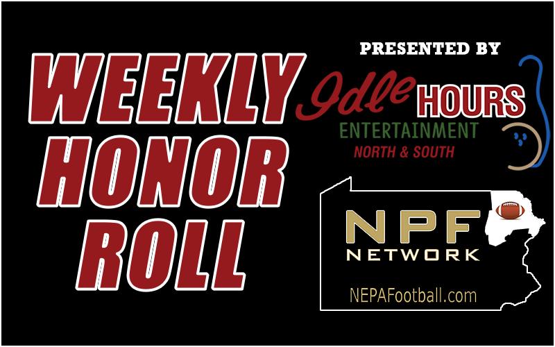 2021 Week 4 Honor Roll