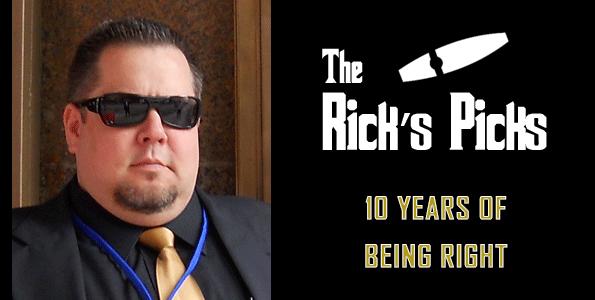 2021 The Rick's Picks – Week 9